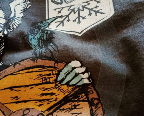 maglietta birra valhalla