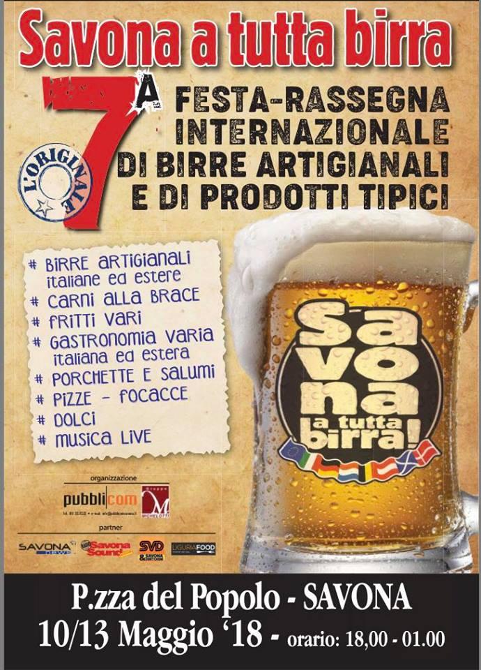 savona a tutta birra 2018